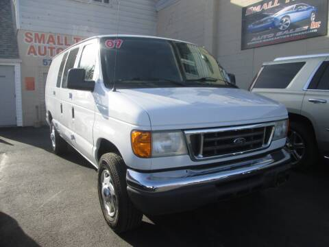 2007 Ford E-Series Cargo for sale at Small Town Auto Sales in Hazleton PA