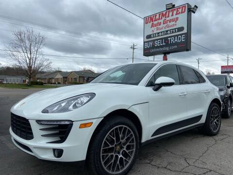 2017 Porsche Macan for sale at Unlimited Auto Group in West Chester OH