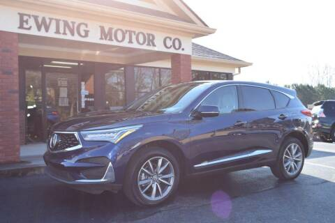 2020 Acura RDX for sale at Ewing Motor Company in Buford GA