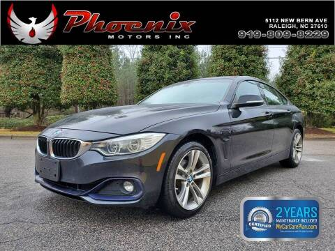 2015 BMW 4 Series for sale at Phoenix Motors Inc in Raleigh NC