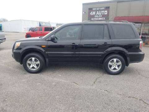 2007 Honda Pilot for sale at 4M Auto Sales | 828-327-6688 | 4Mautos.com in Hickory NC