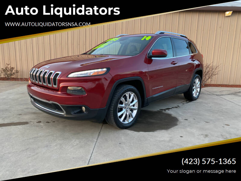 2014 Jeep Cherokee for sale at Auto Liquidators in Bluff City TN