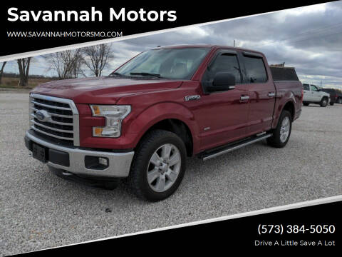 2016 Ford F-150 for sale at Savannah Motors in Elsberry MO