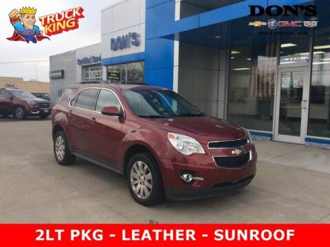 2011 Chevrolet Equinox for sale at DON'S CHEVY, BUICK-GMC & CADILLAC in Wauseon OH
