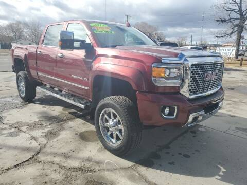 2015 GMC Sierra 2500HD for sale at CHURCHILL AUTO SALES in Fallon NV