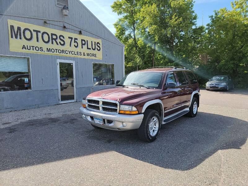 2003 Dodge Durango for sale at Motors 75 Plus in Saint Cloud MN