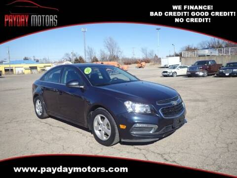 2015 Chevrolet Cruze for sale at Payday Motors in Wichita And Topeka KS