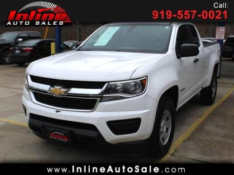 2016 Chevrolet Colorado for sale at Inline Auto Sales in Fuquay Varina NC