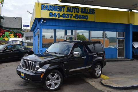 2012 Jeep Liberty for sale at Earnest Auto Sales in Roseburg OR