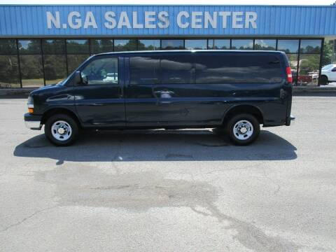 2011 Chevrolet Express Passenger for sale at NORTH GEORGIA Sales Center in La Fayette GA