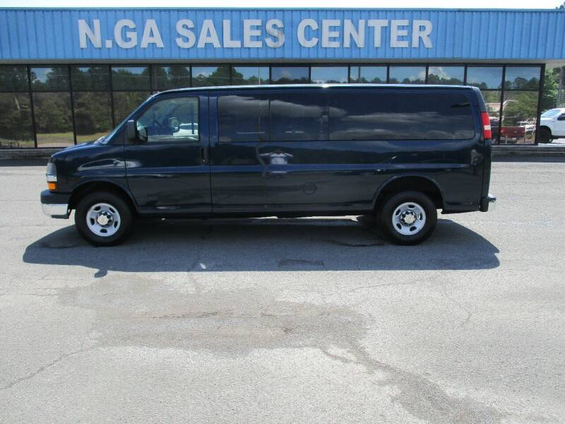 2011 Chevrolet Express Passenger for sale at NORTH GEORGIA Sales Center in La Fayette GA