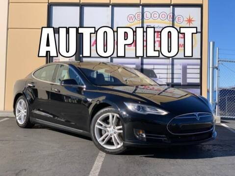 2014 Tesla Model S for sale at Las Vegas Auto Sports in Las Vegas NV