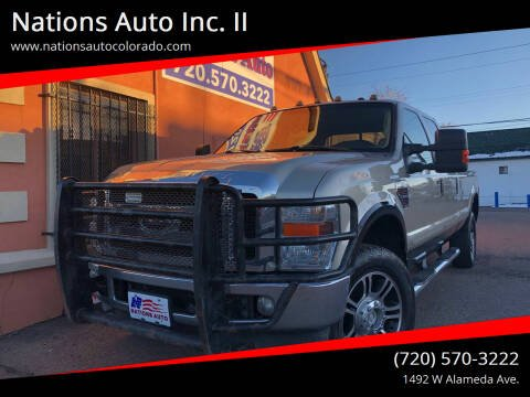 2009 Ford F-350 Super Duty for sale at Nations Auto Inc. II in Denver CO
