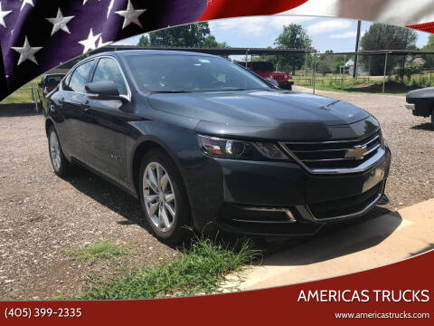 2018 Chevrolet Impala for sale at Americas Trucks in Jones OK