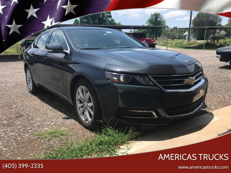 2018 Chevrolet Impala for sale at Americas Trucks in Jones OK