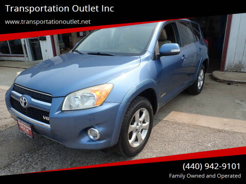 2009 Toyota RAV4 for sale at Transportation Outlet Inc in Eastlake OH