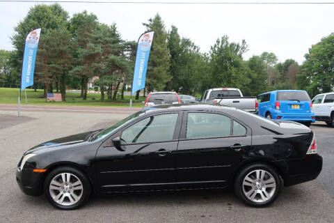 2007 Ford Fusion for sale at GEG Automotive in Gilbertsville PA
