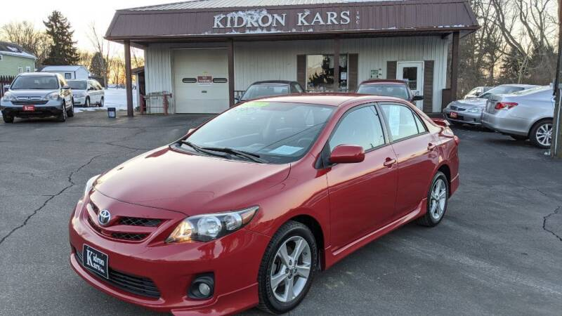 2013 Toyota Corolla for sale at Kidron Kars INC in Orrville OH