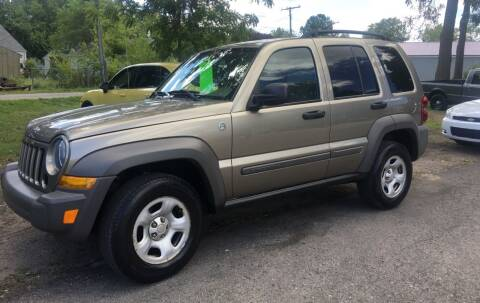 2007 Jeep Liberty for sale at Antique Motors in Plymouth IN