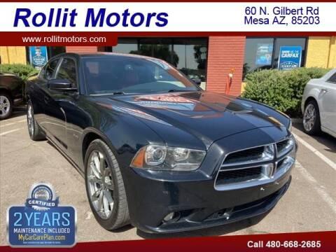 2014 Dodge Charger for sale at Rollit Motors in Mesa AZ