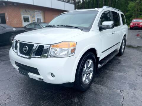 2011 Nissan Armada for sale at Magic Motors Inc. in Snellville GA