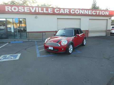 2012 MINI Cooper Convertible for sale at ROSEVILLE CAR CONNECTION in Roseville CA