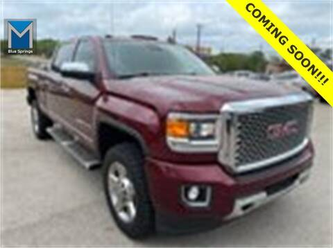 2016 GMC Sierra 2500HD for sale at Mr. KC Cars - McCarthy Hyundai in Blue Springs MO