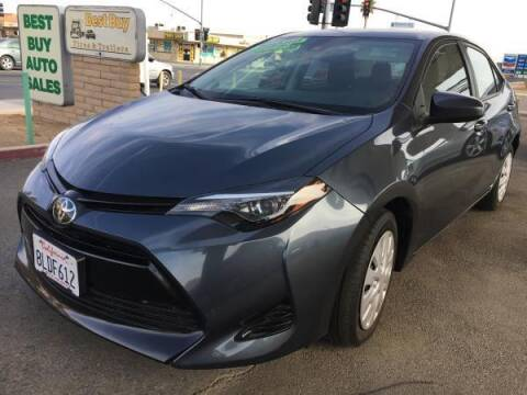 2019 Toyota Corolla for sale at Best Buy Auto Sales in Hesperia CA