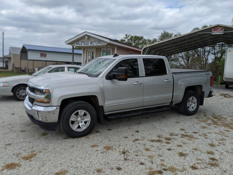 2017 Chevrolet Silverado 1500 for sale at Halstead Motors LLC in Halstead KS