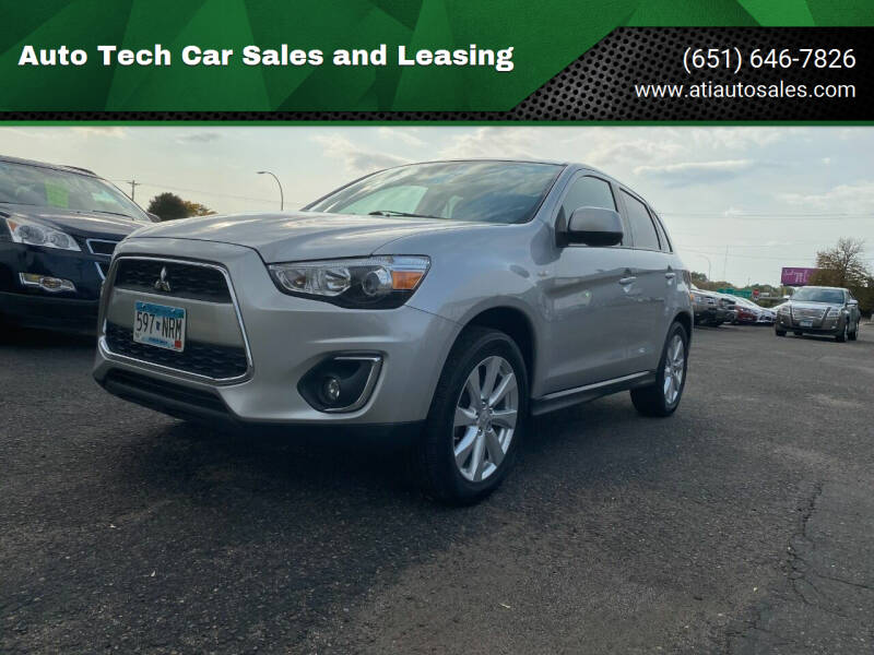 2014 Mitsubishi Outlander Sport for sale at Auto Tech Car Sales in Saint Paul MN