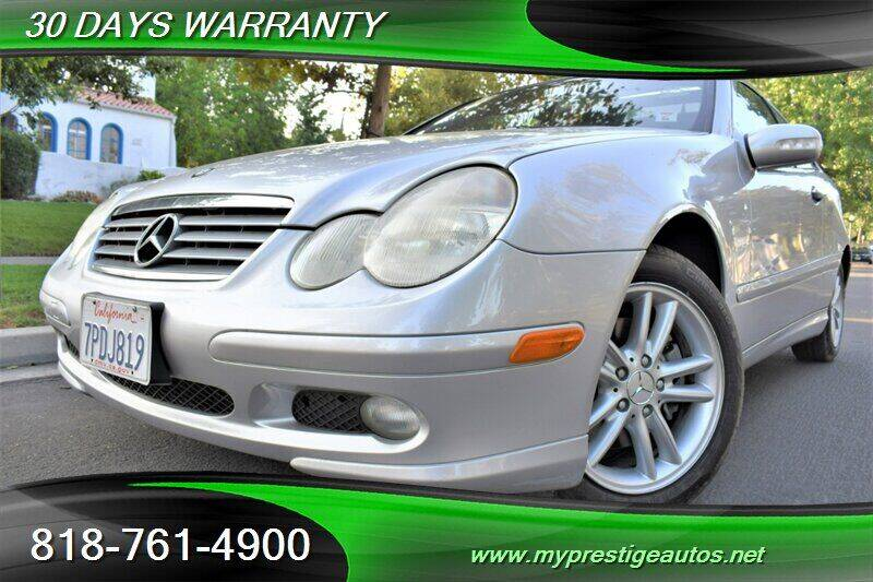 2002 Mercedes-Benz C-Class for sale at Prestige Auto Sports Inc in North Hollywood CA