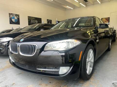 2012 BMW 5 Series for sale at GCR MOTORSPORTS in Hollywood FL