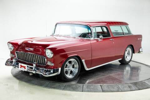 1955 Chevrolet Nomad for sale at Duffy's Classic Cars in Cedar Rapids IA