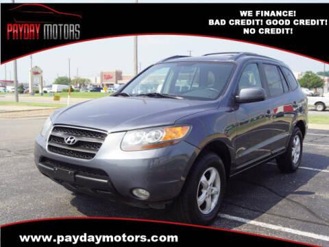 2007 Hyundai Santa Fe for sale at Payday Motors in Wichita KS