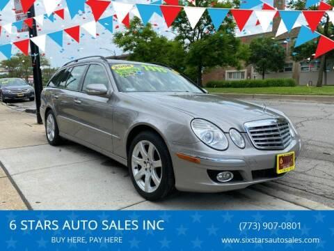 2008 Mercedes-Benz E-Class for sale at 6 STARS AUTO SALES INC in Chicago IL