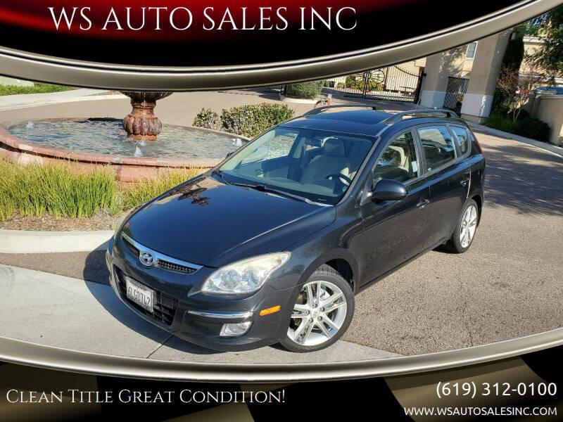 2010 Hyundai Elantra Touring for sale at WS AUTO SALES INC in El Cajon CA