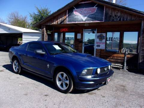 2008 Ford Mustang for sale at LEE AUTO SALES in McAlester OK