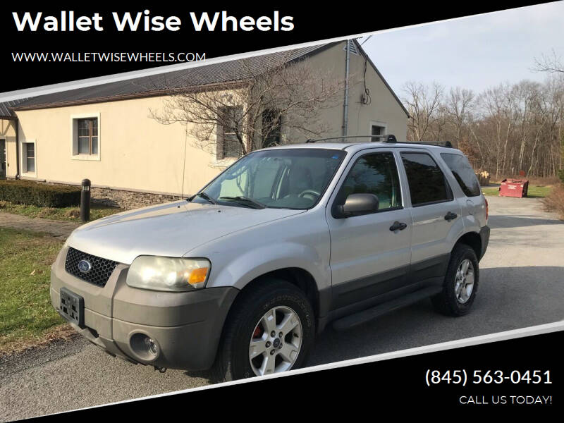 2005 Ford Escape for sale at Wallet Wise Wheels in Montgomery NY