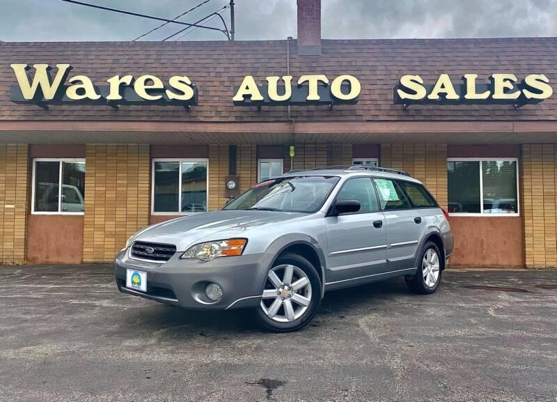 2006 Subaru Outback for sale at Wares Auto Sales INC in Traverse City MI
