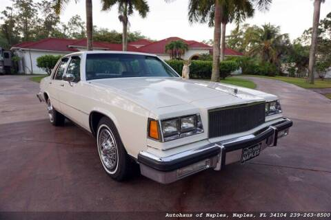 1984 Buick LeSabre for sale at Autohaus of Naples Inc. in Naples FL