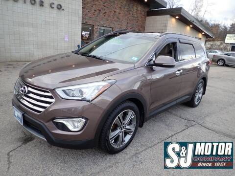 2014 Hyundai Santa Fe for sale at S & J Motor Co Inc. in Merrimack NH