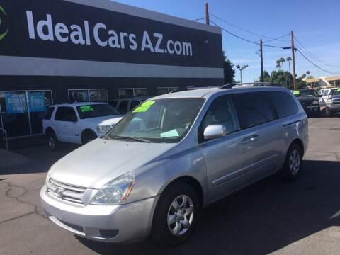 2010 Kia Sedona for sale at Ideal Cars - SERVICE in Mesa AZ