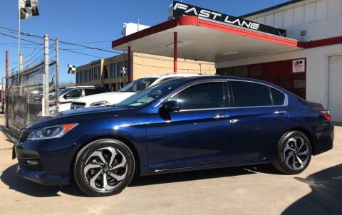 2016 Honda Accord for sale at FAST LANE AUTO SALES in San Antonio TX