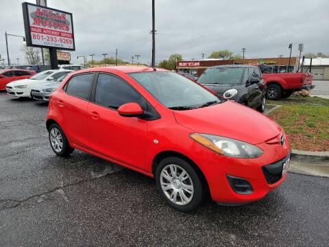2012 Mazda MAZDA2 for sale at ATLAS MOTORS INC in Salt Lake City UT