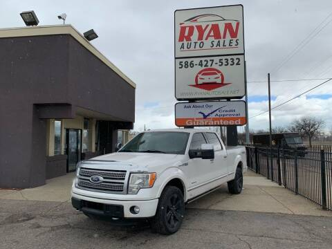 2011 Ford F-150 for sale at Ryan Auto Sales in Warren MI