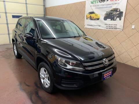 2013 Volkswagen Tiguan for sale at Armando's Auto in Fort Lupton CO