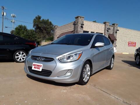 2014 Hyundai Accent for sale at NORTHWEST MOTORS in Enid OK