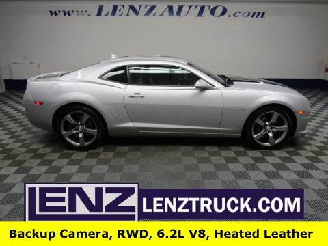 2012 Chevrolet Camaro for sale at LENZ TRUCK CENTER in Fond Du Lac WI