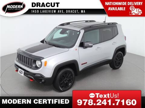 2018 Jeep Renegade for sale at Modern Auto Sales in Tyngsboro MA