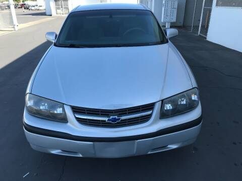 2004 Chevrolet Impala for sale at Auto Outlet Sac LLC in Sacramento CA